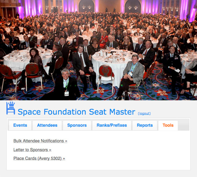 Space Foundation Seat Master